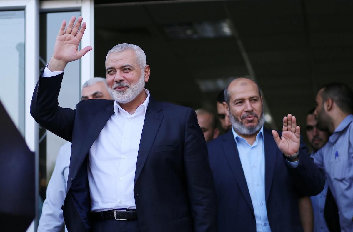 """هنية يصل غزة بعد رحلة """"مطولة"""" للقاهرة"""