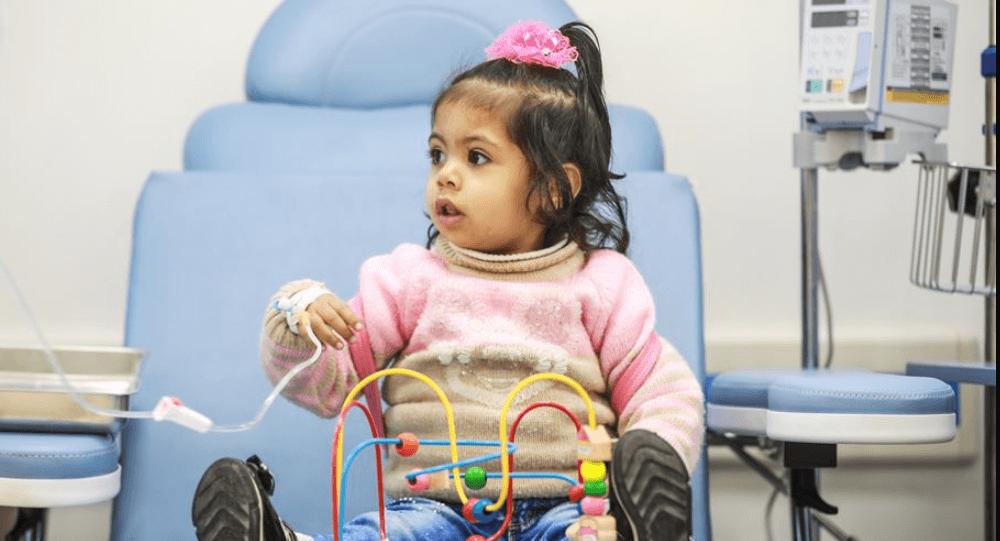 غزة.. قسم بمستشفى للأطفال خطوة نحو الشفاء من السرطان