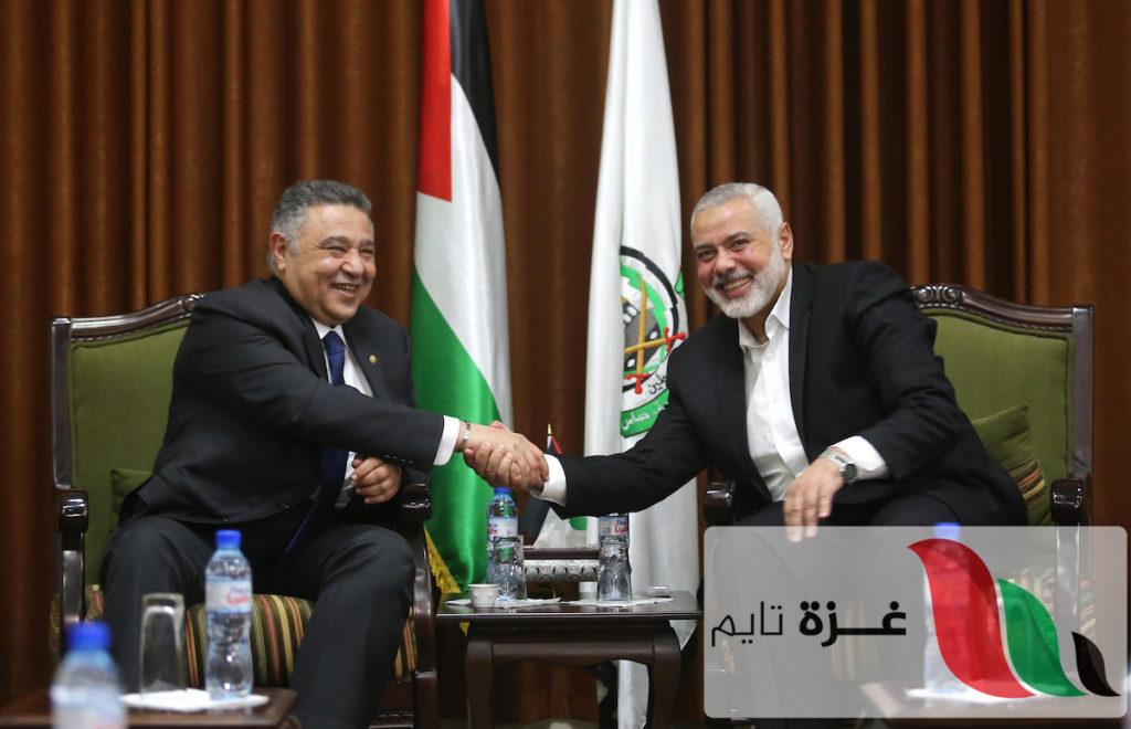 """""""غزة تايم"""" تكشف تفاصيل مباحثات وفد المخابرات المصرية مع قيادة حماس بغزة"""
