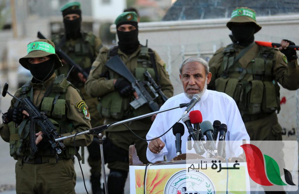الزهار يكشف تفاصيل المباحثات مع الوفد الأمني المصري بغزة
