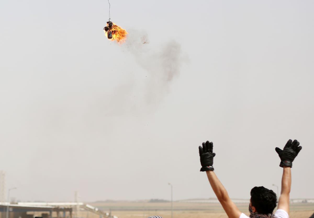 """غزة: حماس تنتظر رداً إسرائيلياً حول """"التهدئة"""" والبالونات المتفجرة تتواصل"""