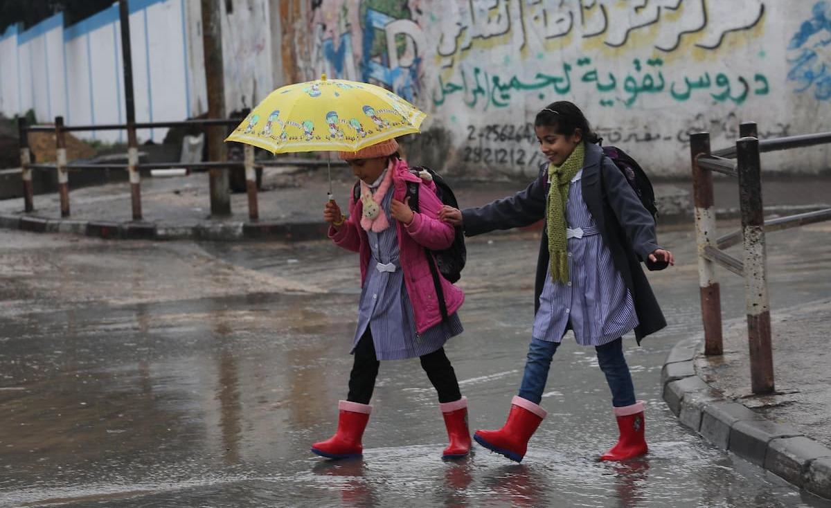الطقس: زخات متفرقة من الأمطار مصحوبة بعواصف رعدية