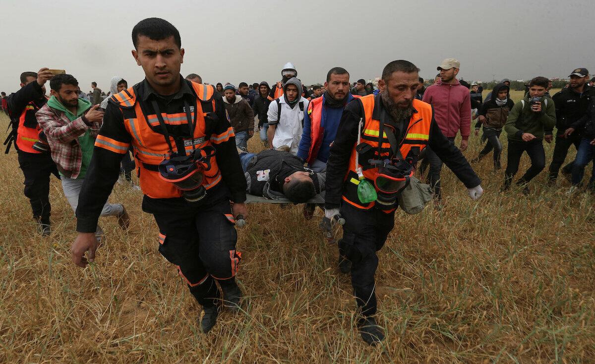إصابات بقمع الاحتلال الجمعة الـ53 لمسيرات العودة على حدود غزة