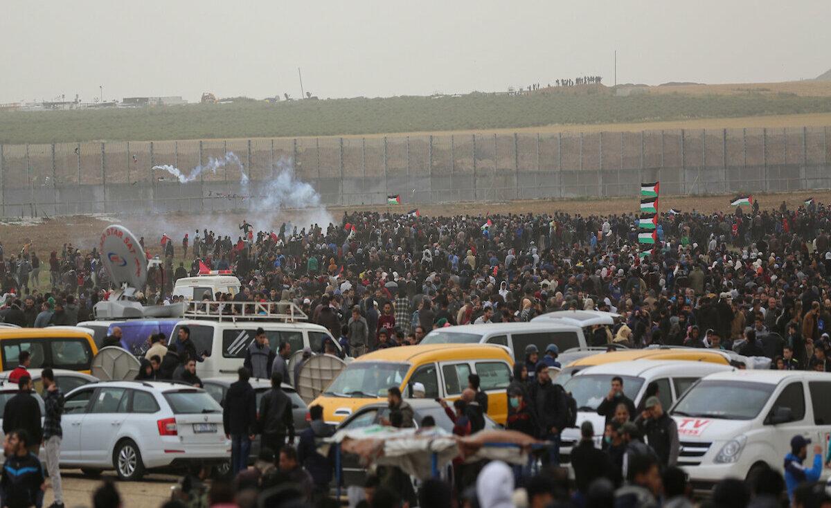 """3 شهداء- غزة تايم تُجمل أبرز أحداث """"مليونية الأرض"""""""