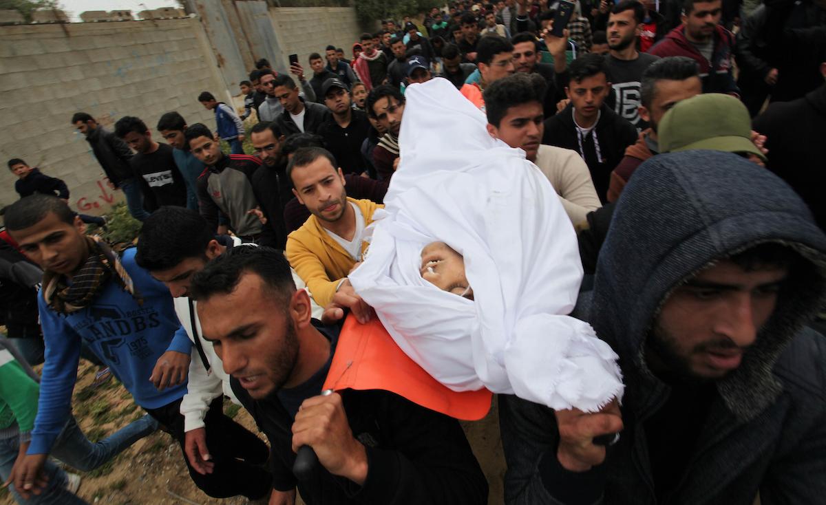 """آخر رسائل أول شهيد في غزة بمليونية """"الأرض والعودة"""""""
