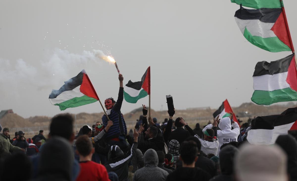 """الاحتلال مهدداً غزة """"أي خطأ في مليونية العودة سيؤدي إلى حرب"""""""