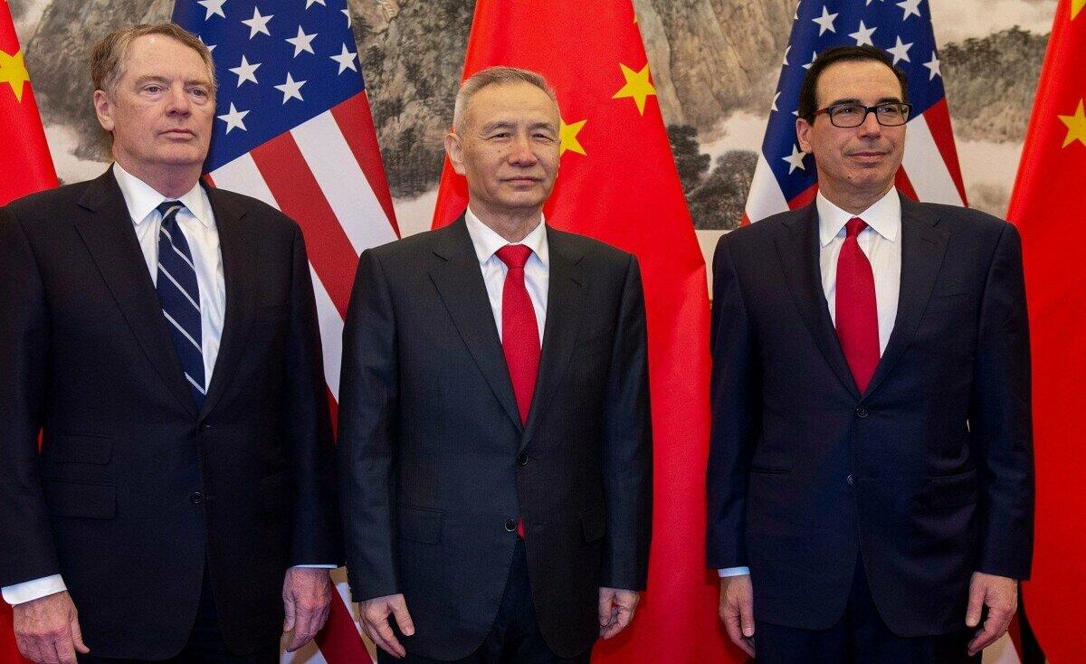 استئناف المفاوضات التجارية الأميركية الصينية