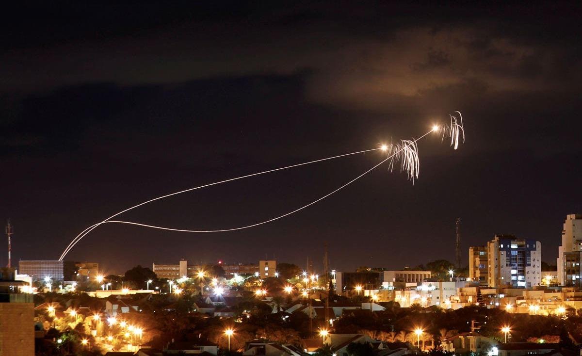 إطلاق خمسة صواريخ من قطاع غزة تجاه مستوطنات الغلاف