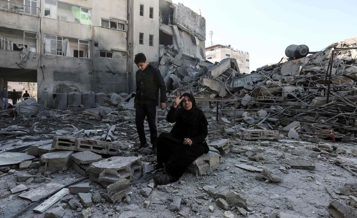 عروس قُصف منزلها فصار زفافها عرسًا لغزة