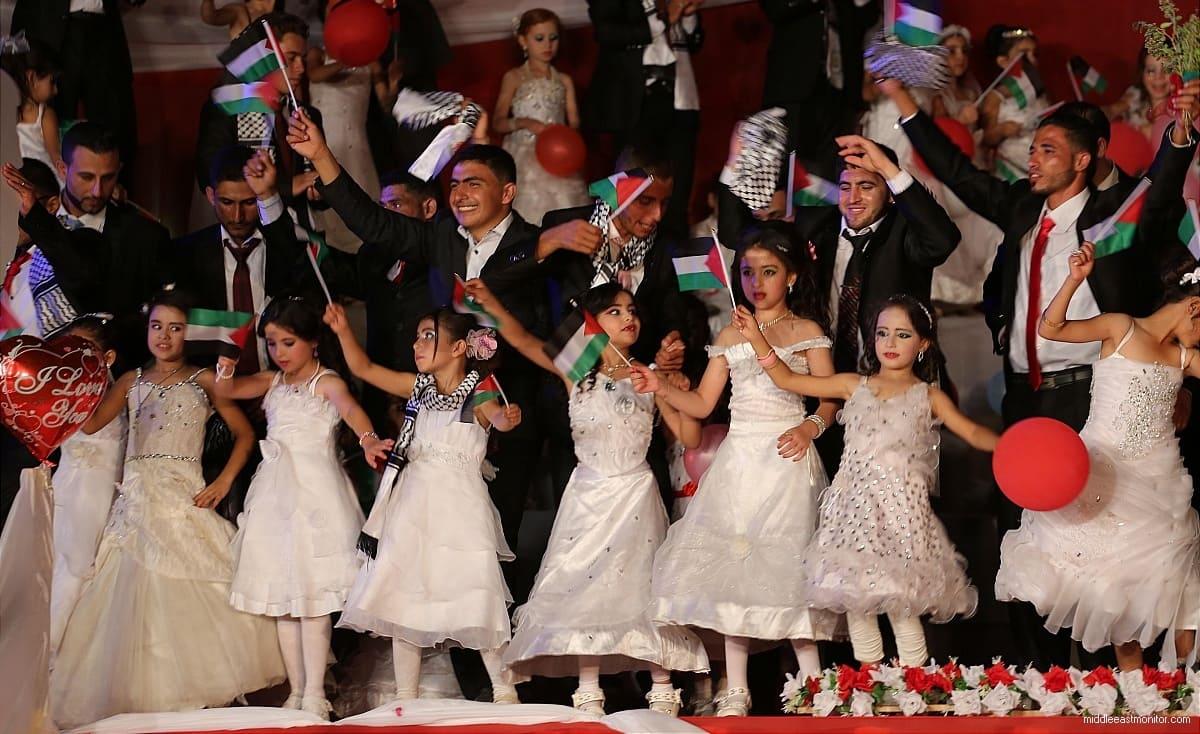 """رابط تسجيل مشروع """"فتا"""" للعرس الجماعي الفلسطيني في غزة"""