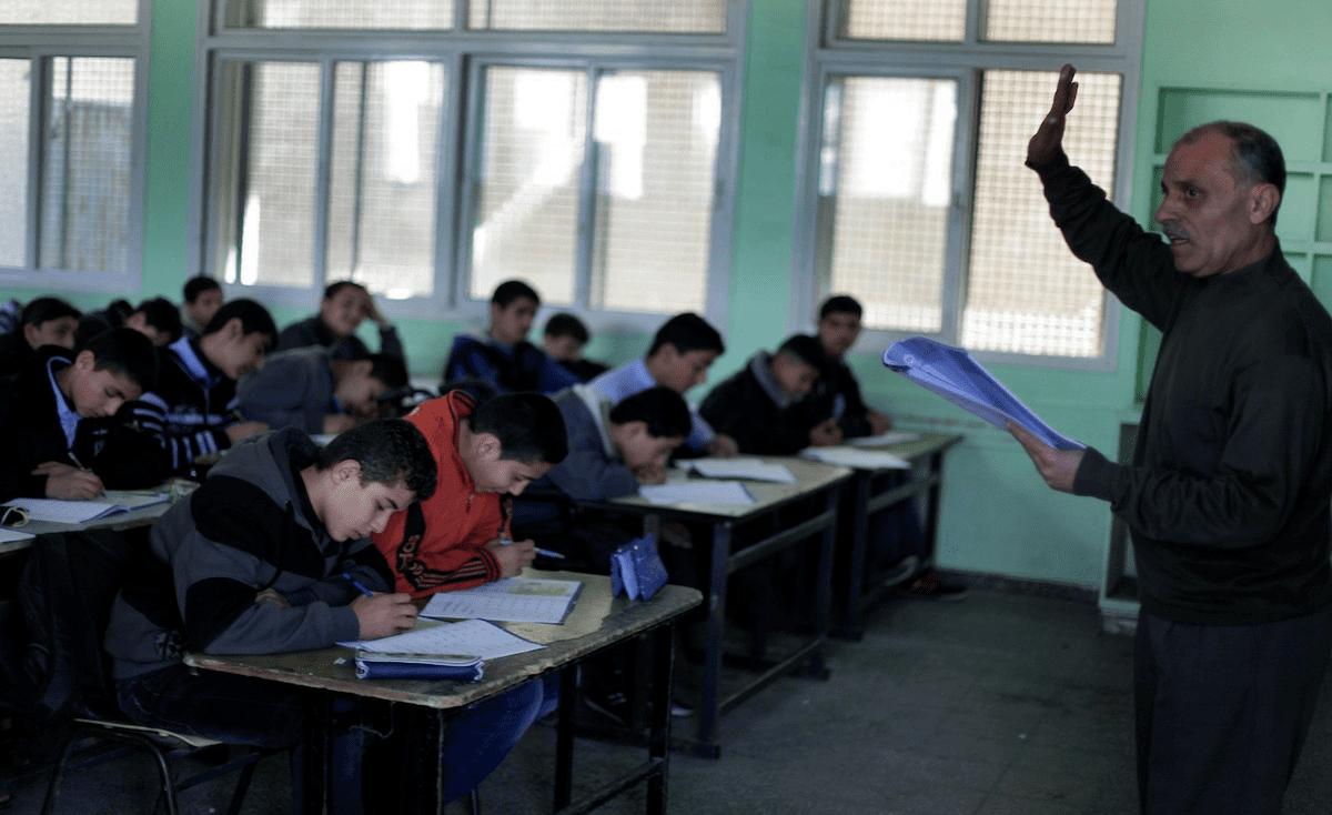 """""""التعليم"""" بغزة تنشر توضيحات للمتقدمين لامتحان وظيفة معلم"""