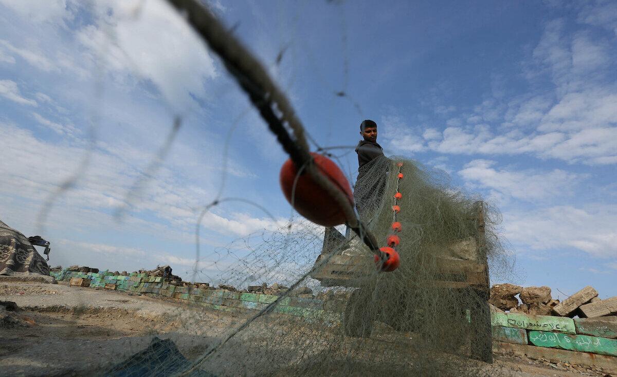 إصابة صياد برصاص الاحتلال في بحر غزة (صور)