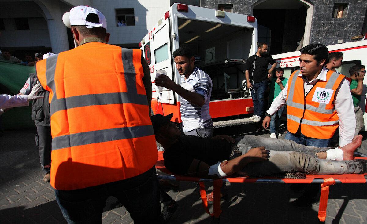 """جمعة """"يوم الأسرى"""".. جرحى برصاص الاحتلال في مسيرة العودة بغزة"""