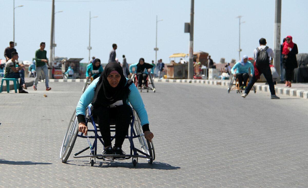 """""""معوقات حركياً"""" من غزة يشاركن في بطولة دولية"""