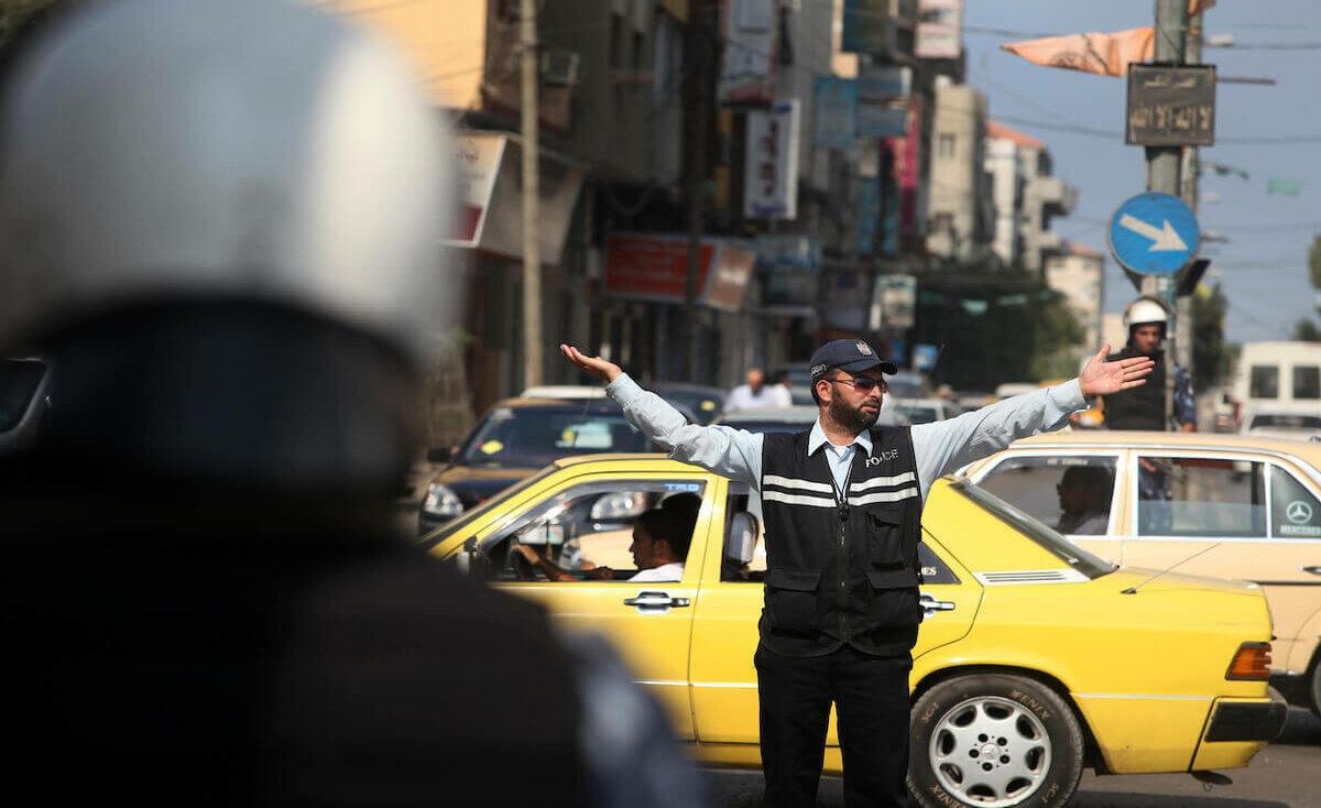 شرطة المرور توضح حالة الطرق في غزة