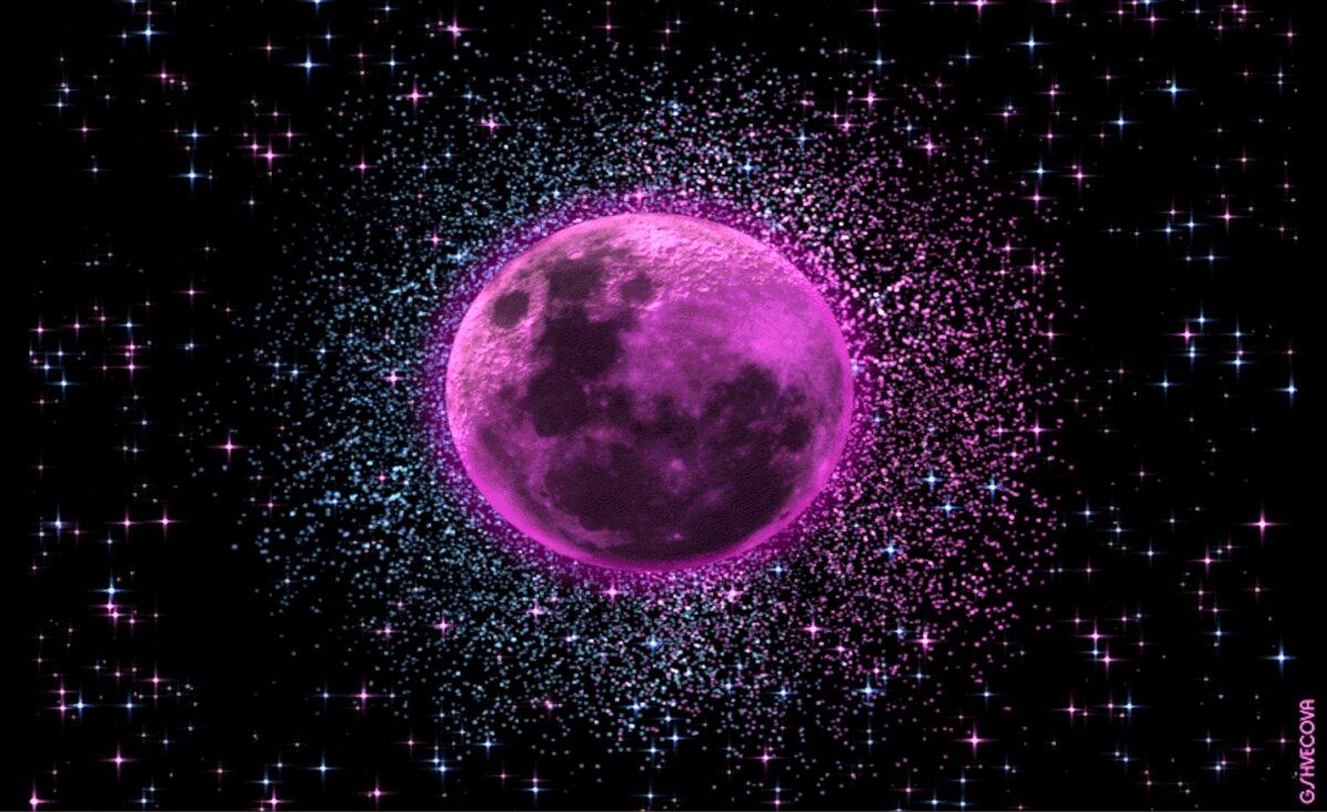 العالم يترقب ظاهرة «القمر الوردي» في هذا الموعد
