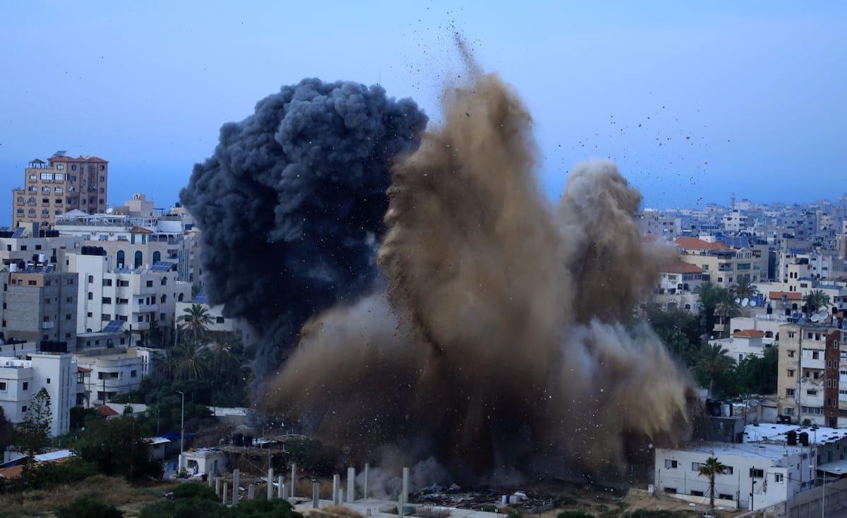 تفاصيل انفجار بيت لاهيا شمال قطاع غزة