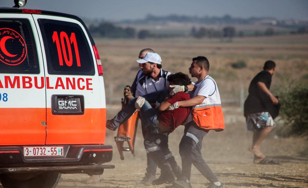 """غزة: إصابات برصاص الاحتلال في جمعة """"لا للتطبيع"""""""
