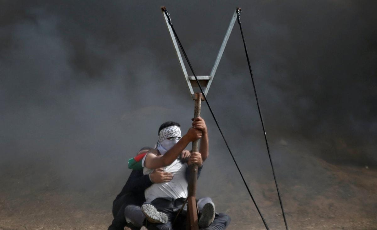 غزة: إصابات في الجمعة الـ 84 لمسيرات العودة