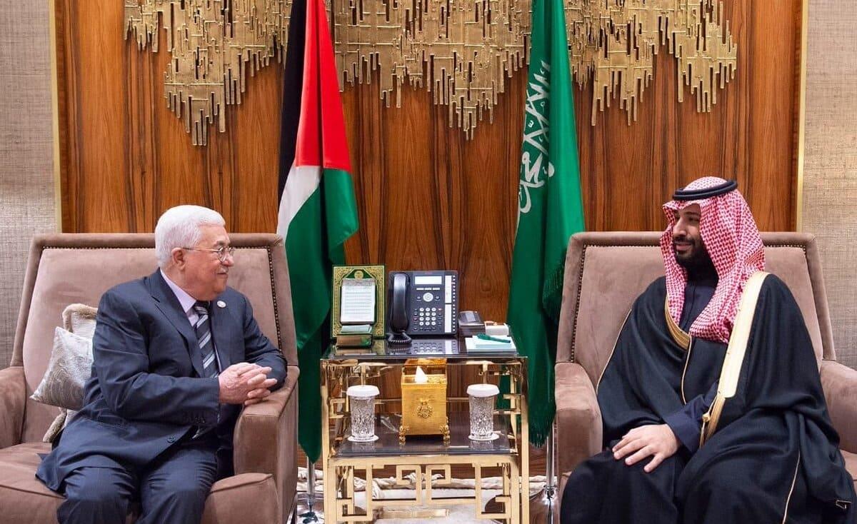 الرئيس عباس يلتقي بن سلمان في الرياض