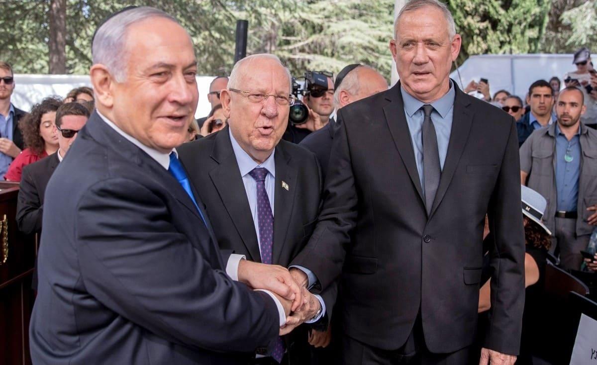 غانتس ونتنياهو يلتقيان اليوم لتشكيل حكومة إسرائيلية