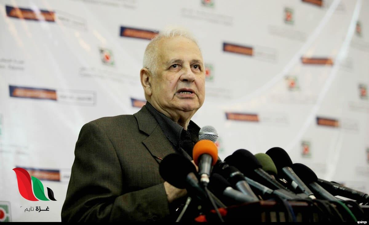 للمرة الثالثة خلال أيام.. حنا ناصر يصل غزة بشأن الانتخابات