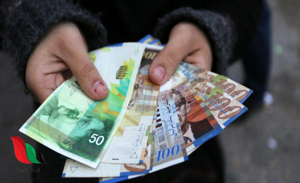موعد ونسبة رواتب موظفي السلطة بغزة والضفة