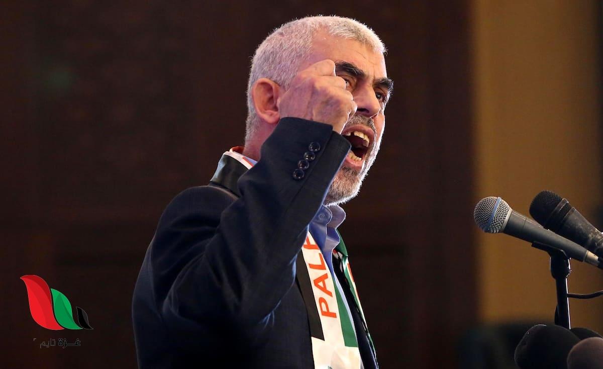 السنوار: سنضرب تل أبيب 6 أشهر إذا استمر حصار غزة