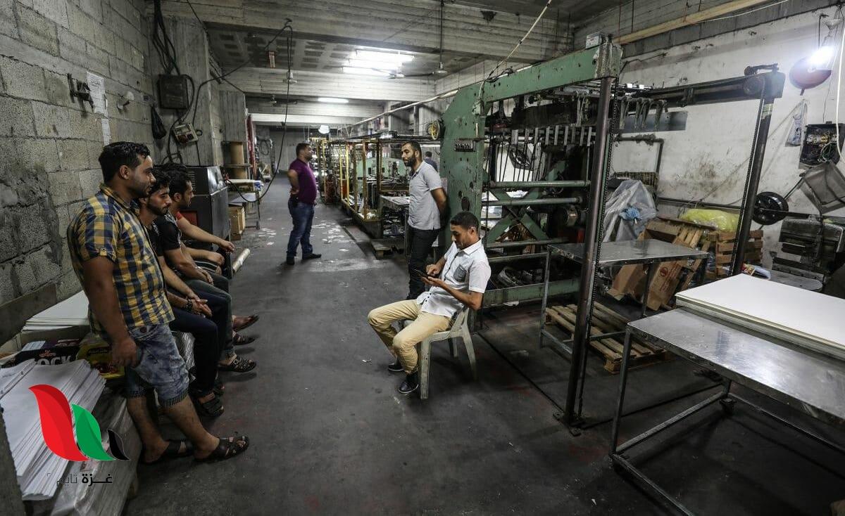 إنتاجات شحيحة وإغلاق مصانع ومنشآت خاصة في غزة