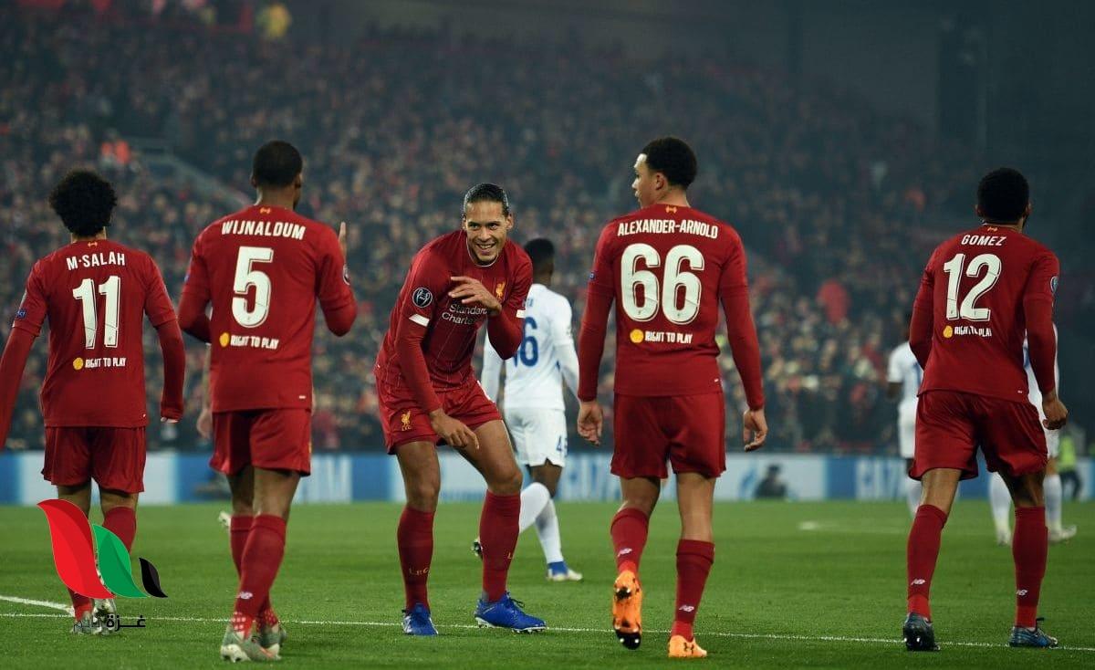ليفربول يتصدر المجموعة الخامسة بفوزه على جينك