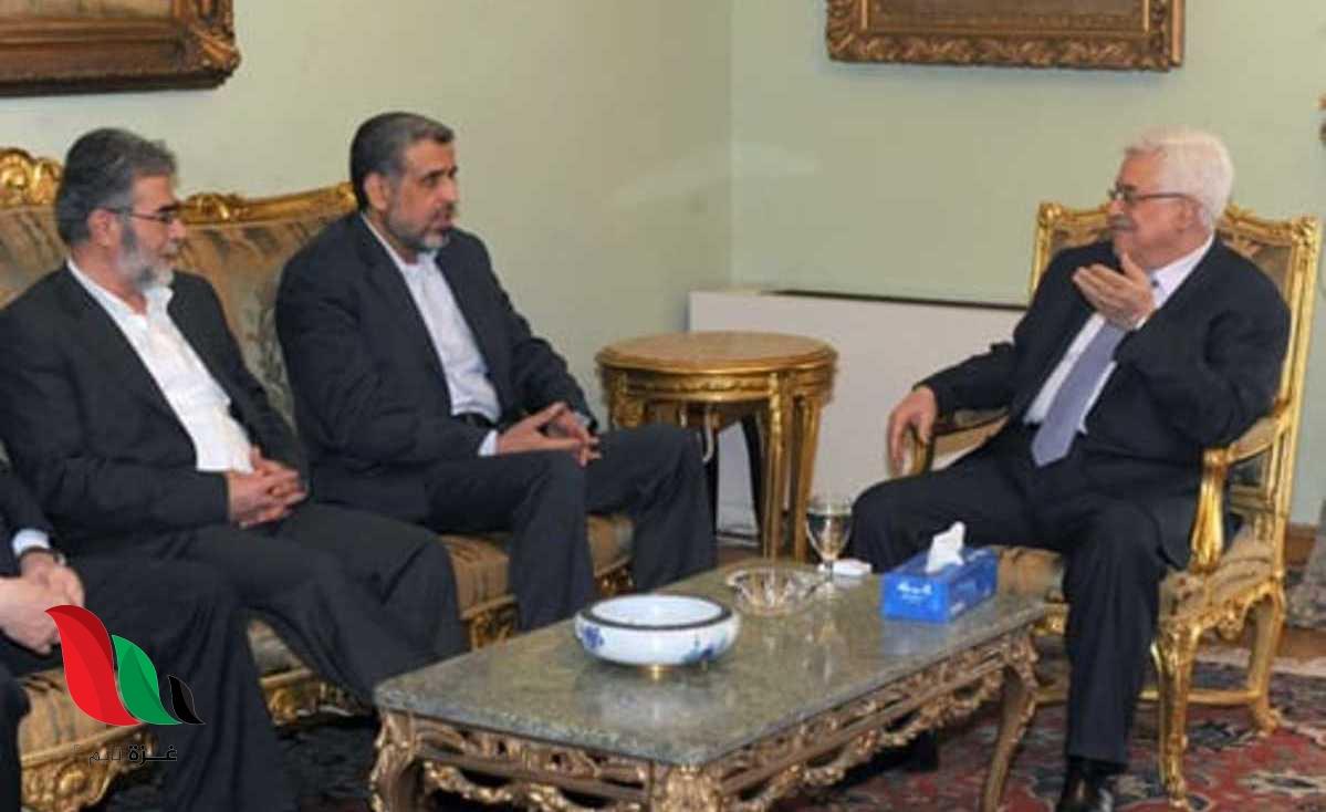 صحيفة تكشف.. توتر العلاقة بين الرئيس عباس والقيادي النخالة