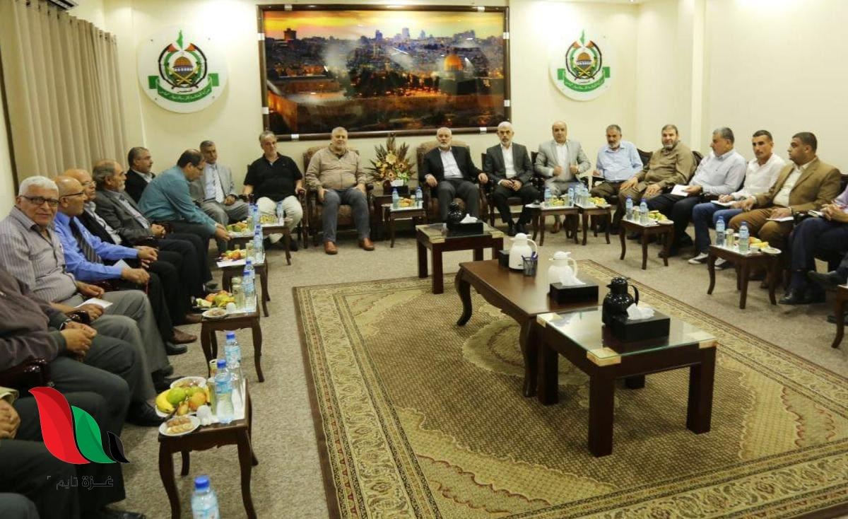 نتائج اجتماع قيادة حماس مع الفصائل في غزة بشأن الانتخابات