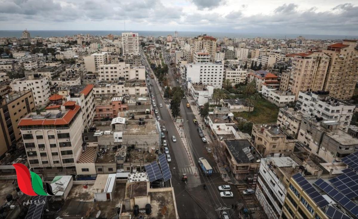 شرطة المرور تغلق شارع عمر المختار بالكامل في غزة