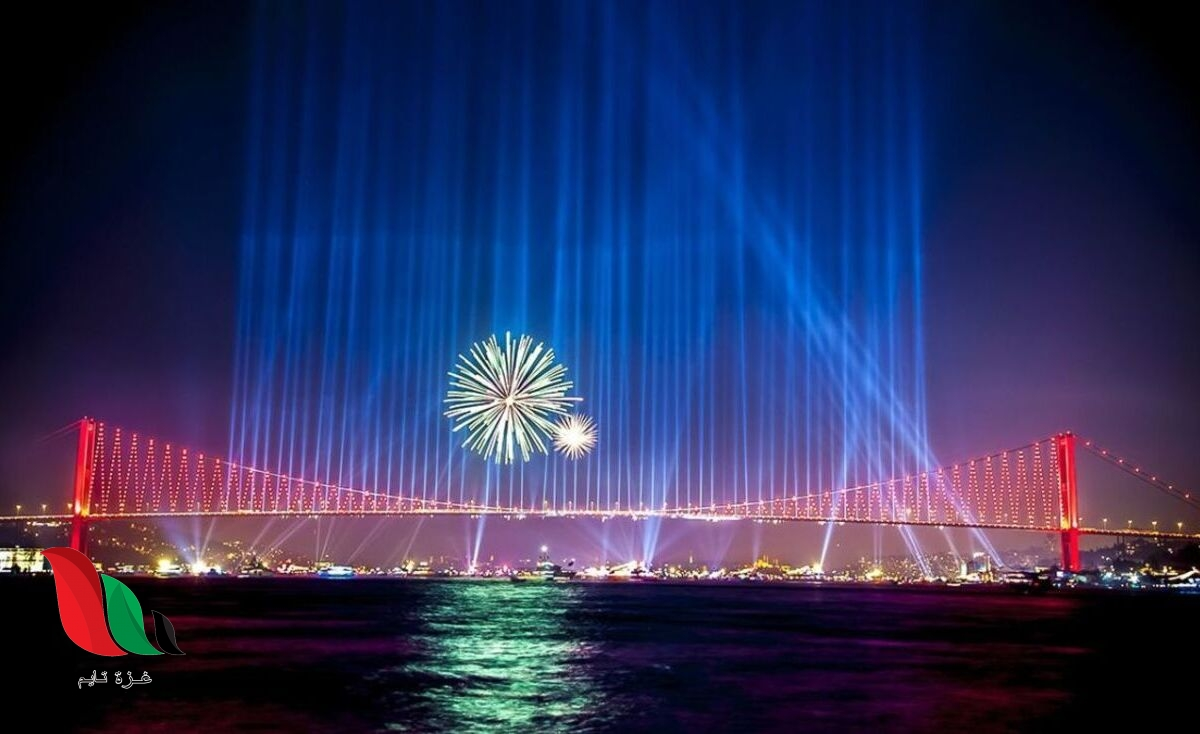 شاهد: احتفالات راس السنة في اسطنبول 2020