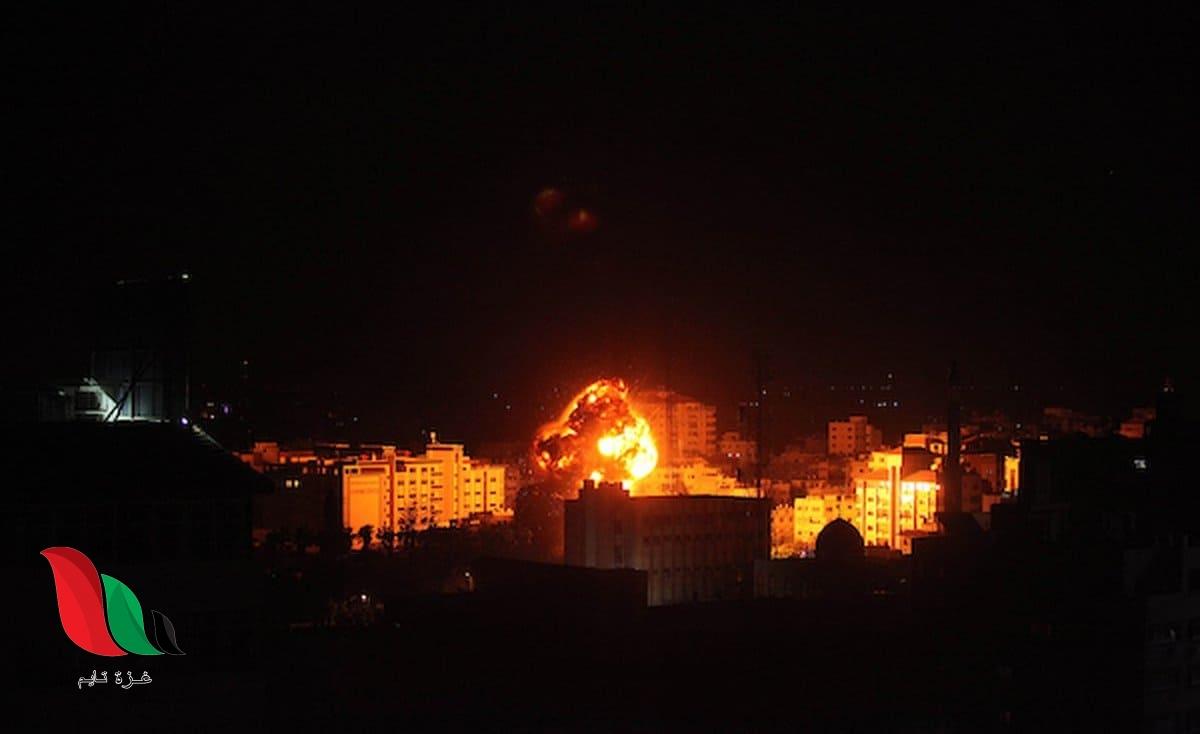 شاهد: طيران الاحتلال يستهدف مواقع للمقاومة في غزة بغارات عنيفة