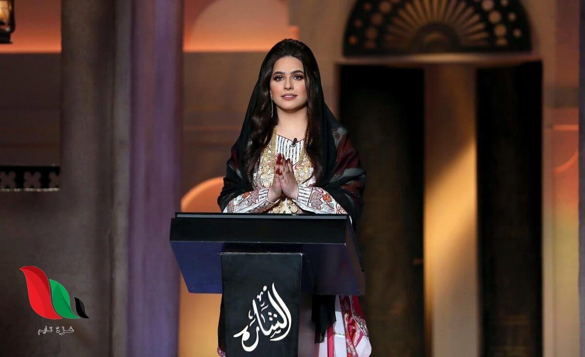 رقم برنامج الشارة ٢٠٢٠ على شاشة قناة الامارات أبو ظبي