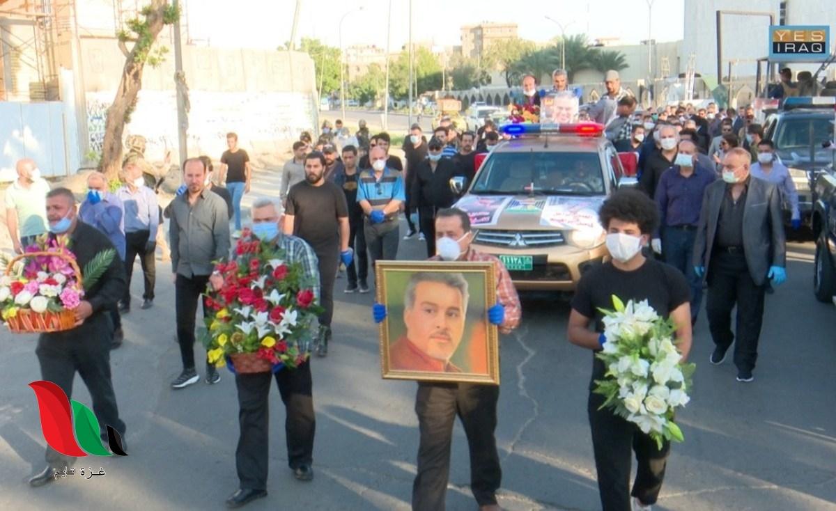 حقيقة وفاة الفنان العراقي كامل ابراهيم بفيروس كورونا