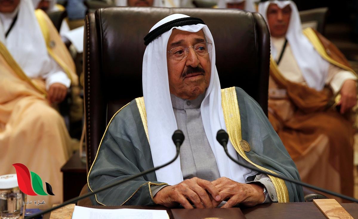 خبر وفاة امير الكويت يجتاح مواقع التواصل اليوم .. هل توفي بغرفة العمليات ؟