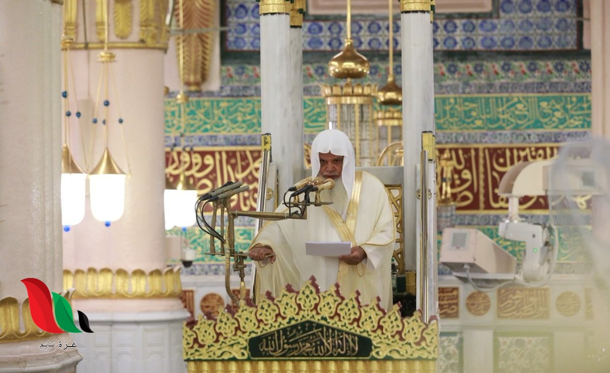 حقيقة وفاة الشيخ علي بن عبد الرحمن الحذيفي 1442 إمام المسجد النبوي