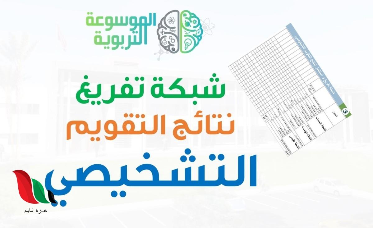 شبكة تفريغ نتائج التقويم التشخيصي 2020 في المغرب