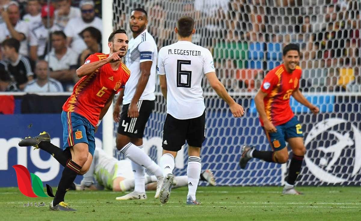 تعرف على القنوات الناقلة لمباراة المانيا واسبانيا في دوري أمم اوروبا 2020