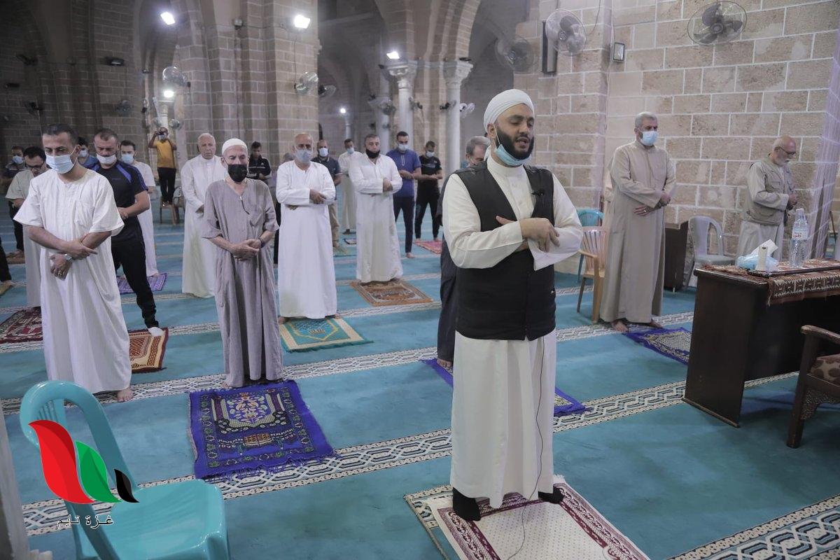 فتح مساجد قطاع غزة أمام المصلين رغم كورونا