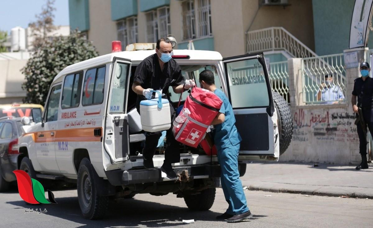 شاهد: مشاهد قاسية لمصابين كورونا في غزة