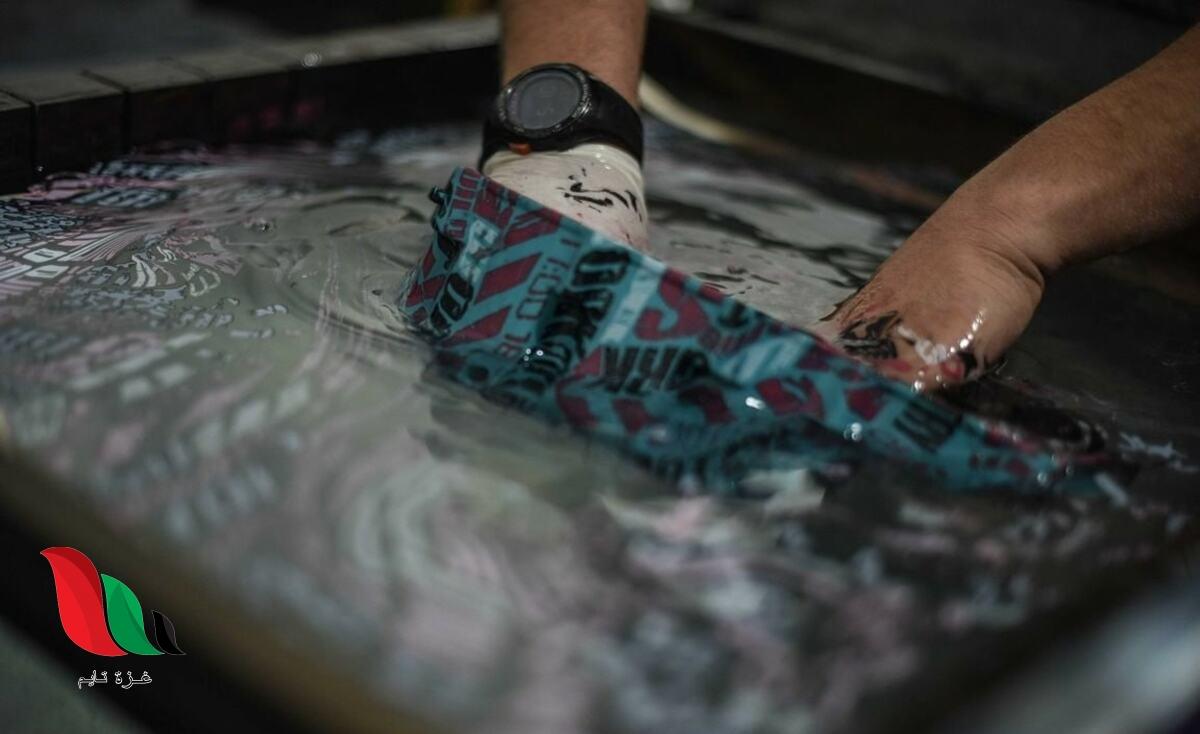 الطباعة المائية.. طريقة شباب غزة لمحاربة البطالة والفقر