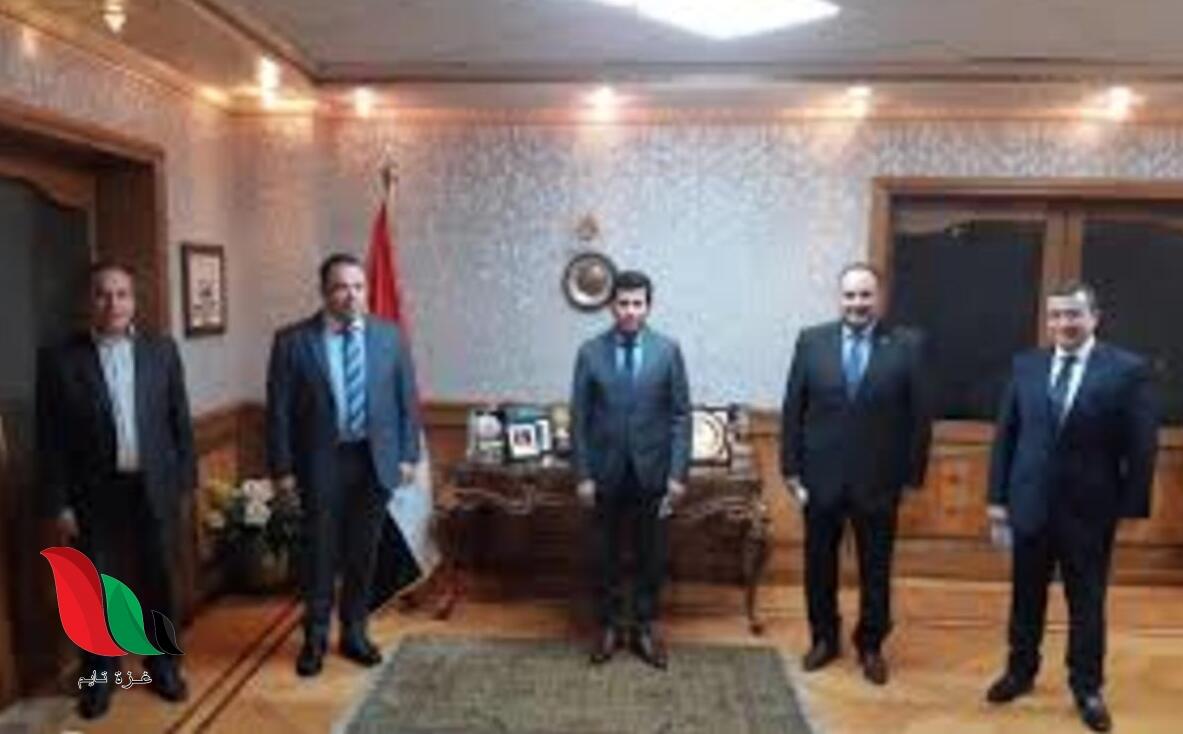 من هو أحمد الشيخ وزير الرياضة الجديد في مصر