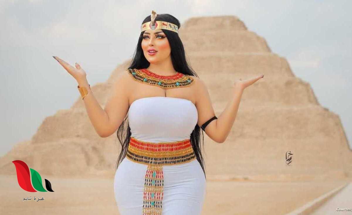 صور سلمى الشيمي فتاة الزي الفرعوني تثير جدلا بمصر