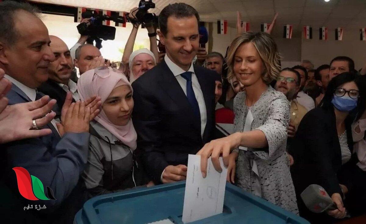 من الفائز في نتائج الانتخابات الرئاسية السورية 2021