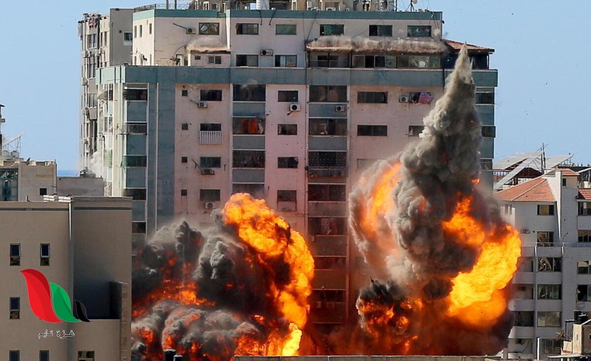 بعد قصف برج الجلاء بغزة.. معلومات جديدة بجعبة واشنطن