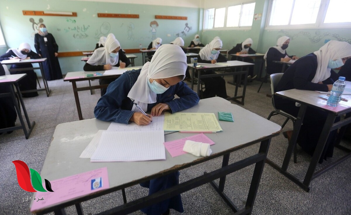 الاجابة النموذجية لامتحان الرياضيات 2021 علمي الورقة الاولى في غزة فلسطين
