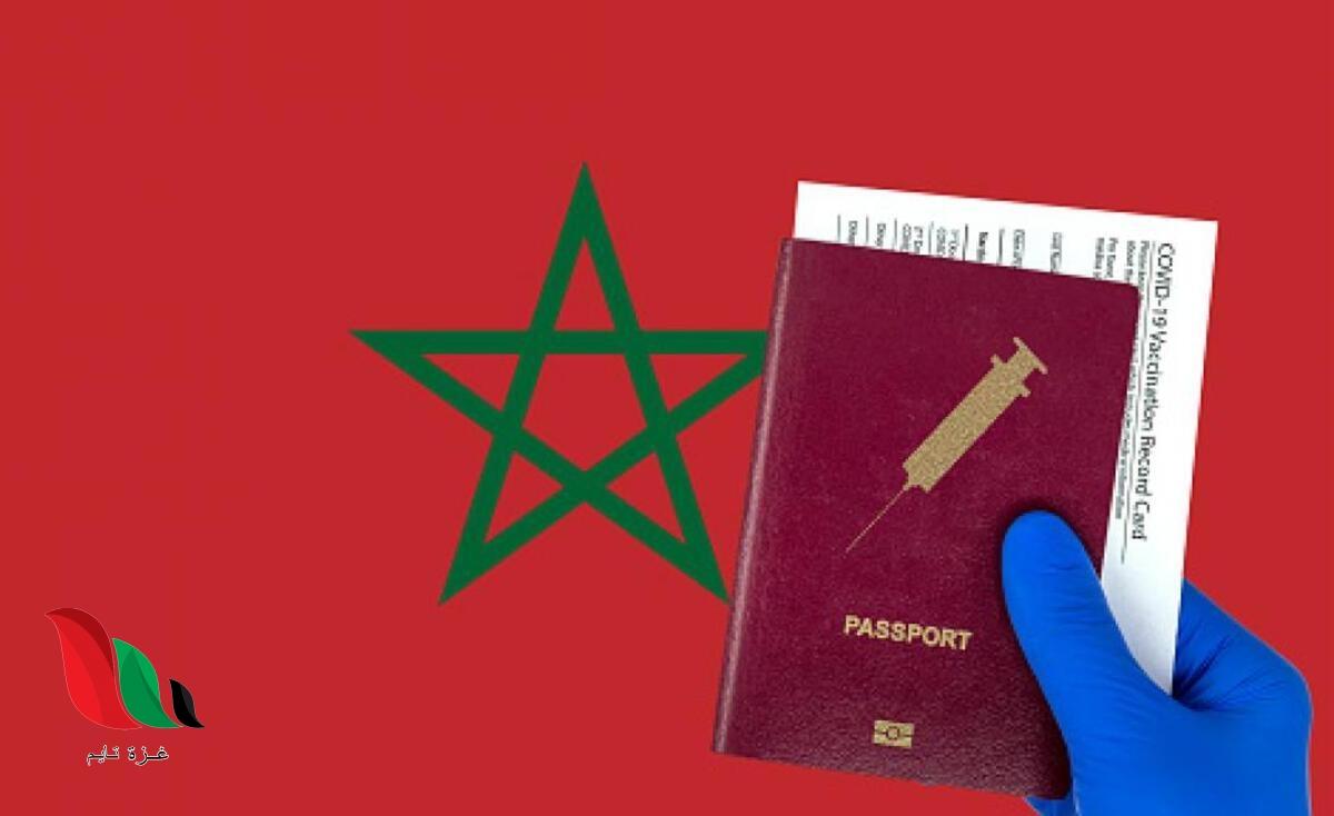 تحميل جواز التلقيح لقاح كورونا في المغرب